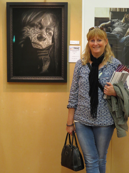 Karen Neal at PANZ national pastel exhibition
