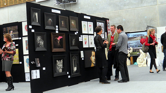 Nelson Art Expo exhibition