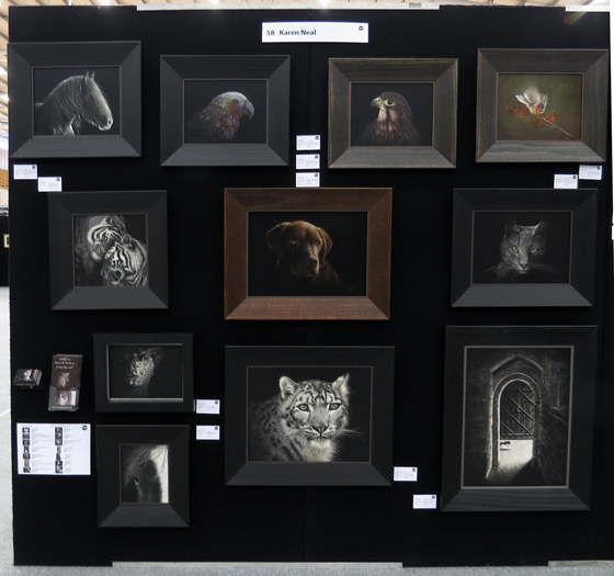 Nelson Art Expo display